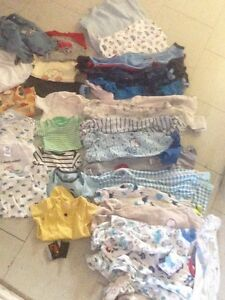 Big lot of boys 0-9 month clothing & 6/7 clothing.
