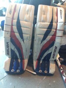 Goalie pads & goalie pants jr Rangers