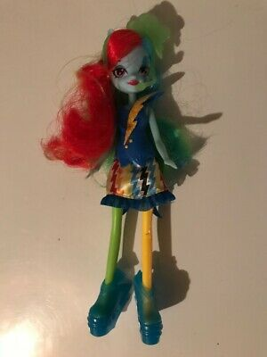 My Little Pony Equestria Girls Rainbow Dash Doll Rainbow Rocks Loose Figure