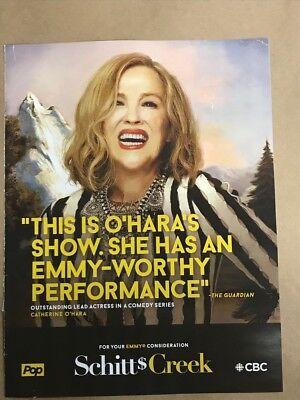 SCHITT'S CREEK: Emmy Awards RARE advertisement ad CONSIDERATION CATHERINE O'HARA