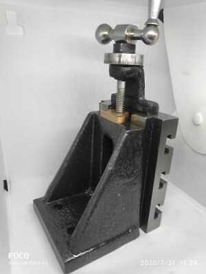 Fixed Vertical Milling Slide 125 X 100 Mm Lathe Machine-4x 5 Tool Post