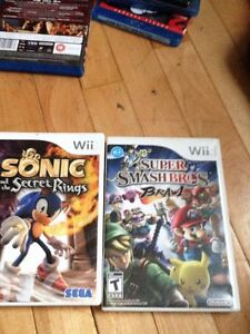 Super  smash brothers brawls & sonic secret rings