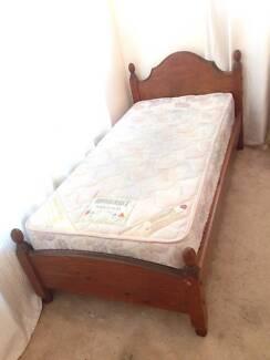 Elegant Wooden Single Beds