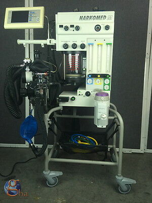 Refurbished Draeger Drager Narkomed M Mobile Anesthesia Machine Isoflurane
