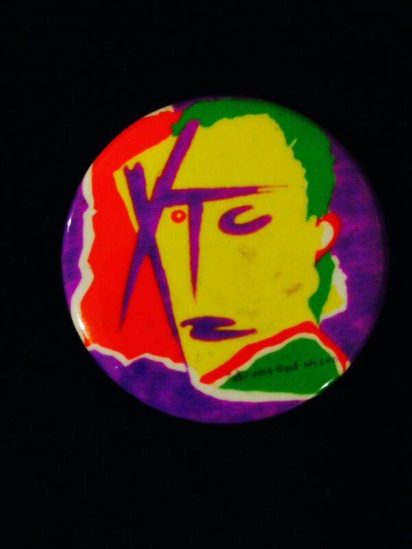 XTC BUTTON PIN PINBACK-RARE