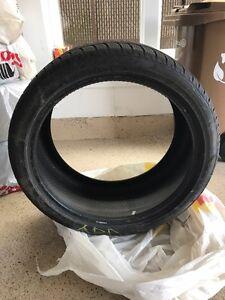 """1 winter tire 1 pneu d'hiver 21 """""""