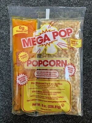 Gold Medal Megapop All In One Popcorn Packets 8 Oz.
