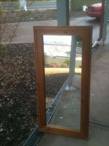 Timber framed mirror Balhannah Adelaide Hills Preview