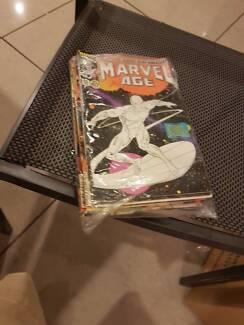 Marvel comics (Marvel Age x 13)