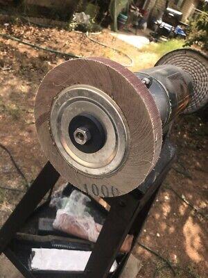 1000 Grit 8 Flap Sanding Grinding Abrasive Wheel Aluminum Oxide For Polishing