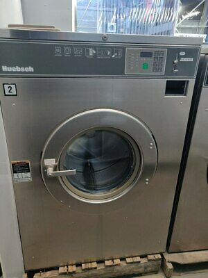 Hc50bc 50 Lb Huebsch Commercial Washer 220v 3 Ph Reconditioned