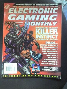 EGM-ELECTRONIC-GAMING-MONTHLY-N-66-RIVISTA-VIDEOGIOCHI-USA-Lingua-originale