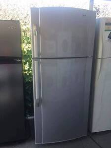 LARGE / Stainless steel great working 521 liter DEC fridge , can Mont Albert Whitehorse Area Preview