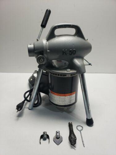 Ridgid 115-Volt K-50 Sectional Drain Cleaner Machine  58920 *TE