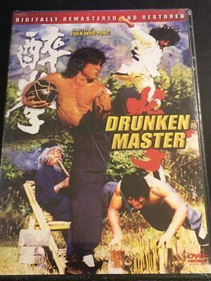 Drunken Master Dvd Starring  Jackie Chan  Simon Yuen  Hwang Jang Lee