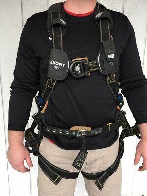 Exofit Nex Dbi Sala Full Body Tower Climbing Safety Harness 1113369
