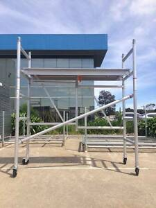 2.0m Aluminium Foldable Scaffold mobile scacffold tower Dandenong South Greater Dandenong Preview