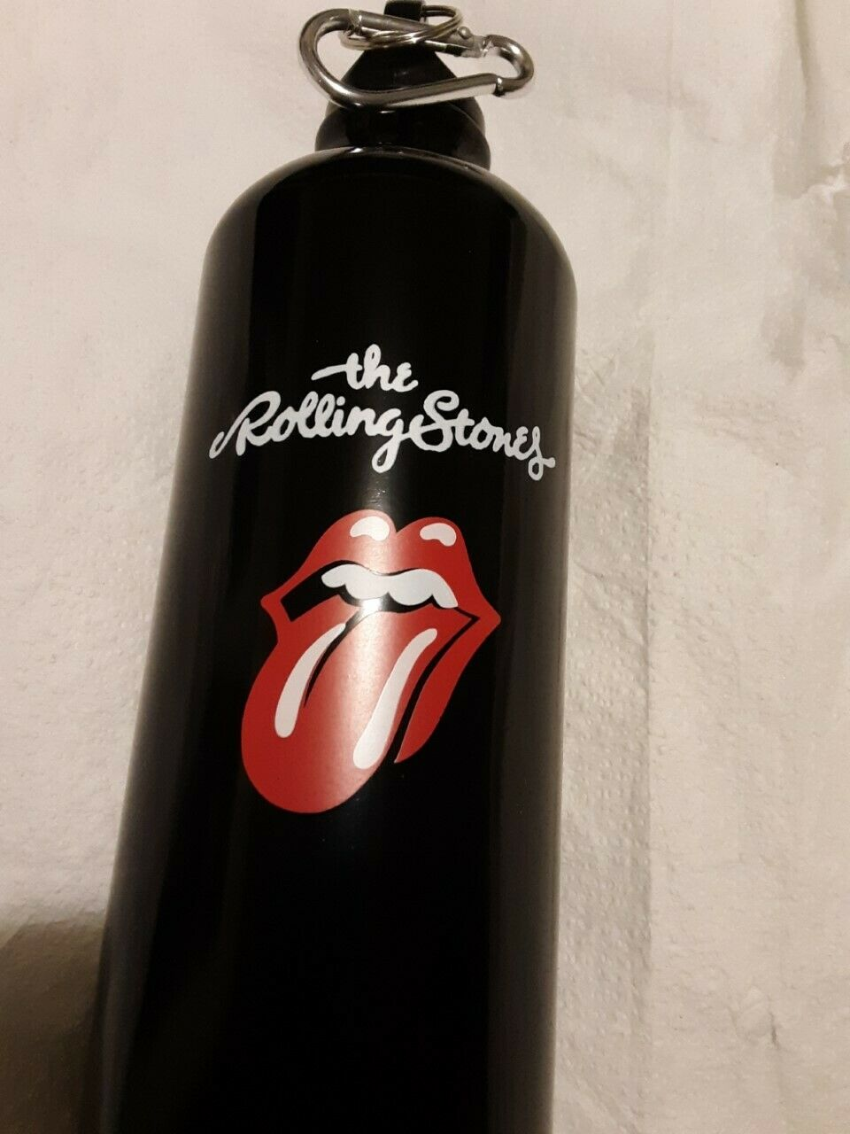 THE ROLLING STONES ALUMINIUM WATER BOTTLE - $9.99