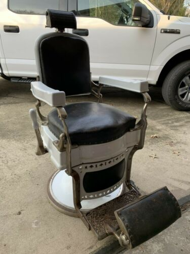 Antique Koken Barber Chair