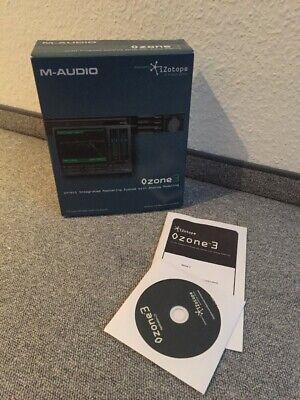 M-Audio IZotope Ozone 3 Mastering Software VST Plug-In (Ableton Live Logic)