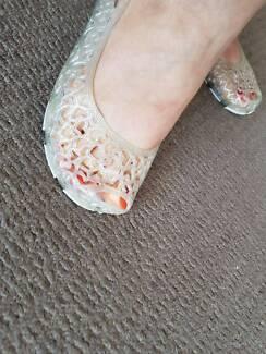 Rubber comfie shoes