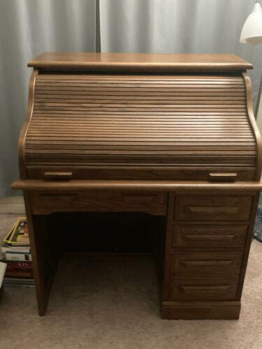 Antique Roll-top Desk