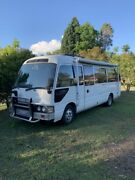 Toyota Coaster Motorhome Castle Hill The Hills District Preview