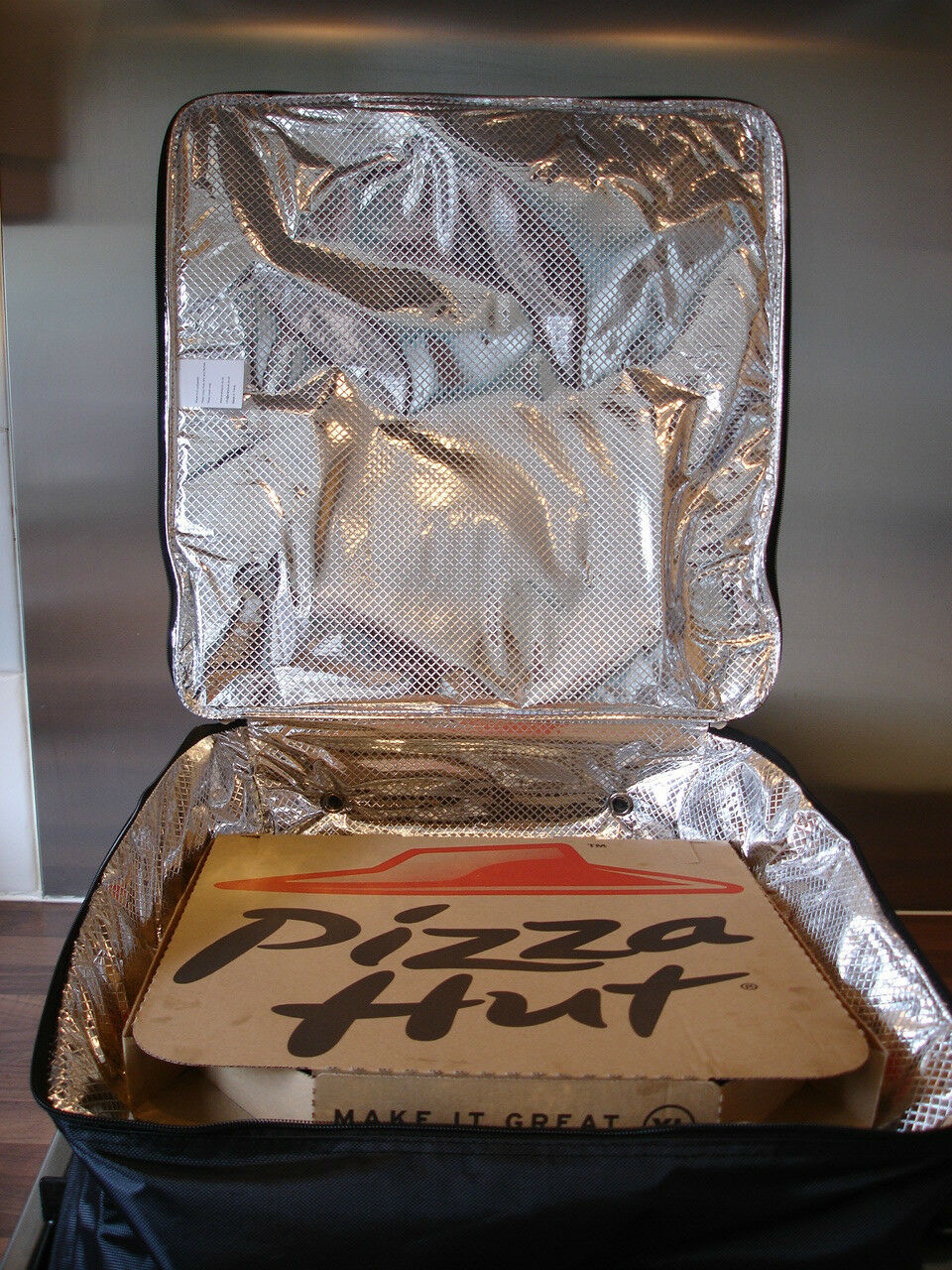 Pizza Delivery Bag 18 X 18 X 7 Fast Food Insulated