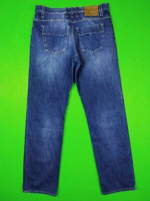 GUCCI Blue Denim Jeans Vintage Fit Mens 48 M Made in Italy