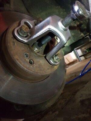 Abzieher Auszieher Radnabe Radlager Werkzeug Frontnabe-n Loch-Kreis 100-115 4-5