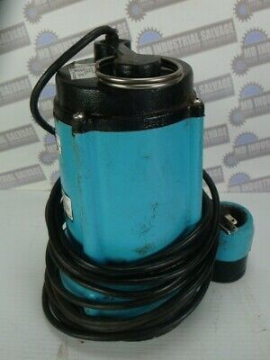 Little Giant - 12 Hp Cast Iron Effluent Pump 511571 10enh-cim 3600 Gph