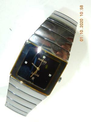 Rado watch Jubile DiaStar Diamond Ceramic Quartz  05796962 runs well