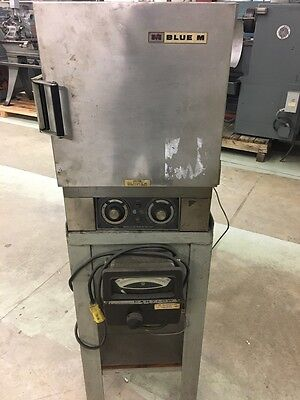 Blue M Laboratory Oven Model Ov-12a W Partlow Temperature Controls Pedestal