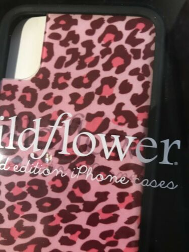 Wildflower NEW Pink Cheetah Limited Edition Phone Case- Iphone X, Xs