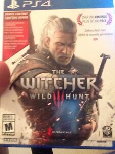 Witcher 3 wild hunt for ps4 Cambridge Kitchener Area image 1
