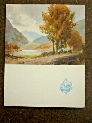 Vintage RMS Queen Mary Luncheon Menu April 14 1949 VGC Cunard White Star Line