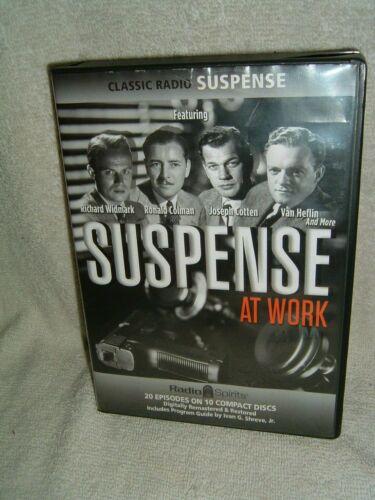 Suspense At Work Audio CD Box Set 2015 Radio Spirits 46702 Missing Disc 5