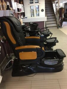 Lalili pedicure chair (massage function)