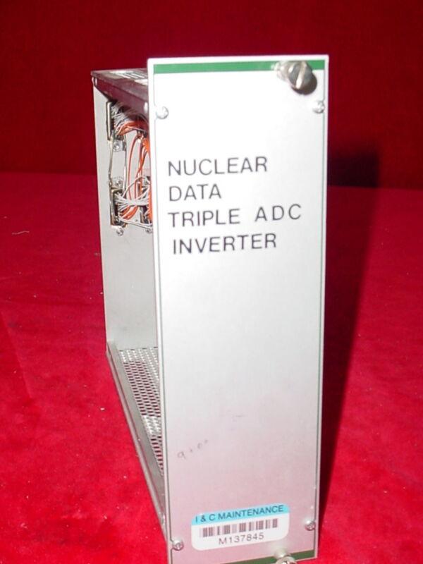 Nuclear Data NIM BIN Plug-In Module Tennelec EG&G Ortec