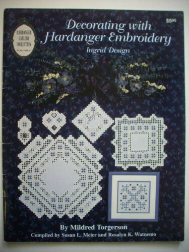 Decorating with Hardanger Embroidery  pattern booklet