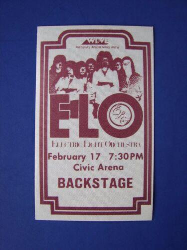 ELO ELECTRIC LIGHT ORCHESTRA VINTAGE ORIGINAL 1970