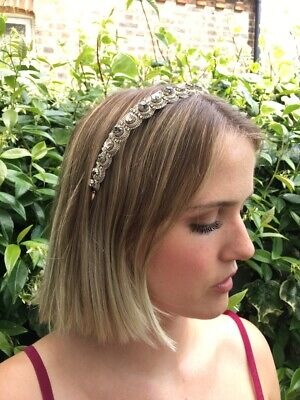 Jenny Packham, Beautiful Silver Headband in great conditon, One size fits all