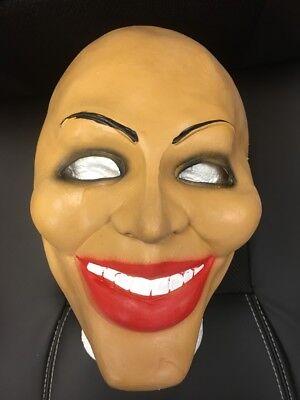 Latex Masken Uk (UK The Säuberung Film Latex Maske Kostüm Verkleidung Halloween erwachsene Kinder)