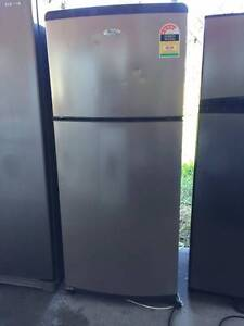 4.5 star Stainless steel great working 410 liter whirlpool fridge Mont Albert Whitehorse Area Preview