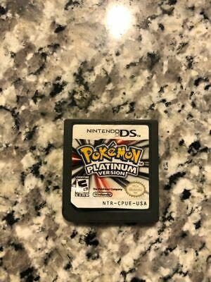 Pokemon Platinum Version (Nintendo DS, 2009); Game Cartridge Only