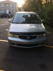 Honda Odyssey 2002 baisse de prix