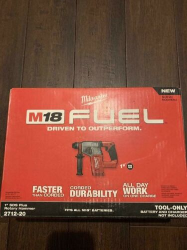 """MILWAUKEE 2712-20 M18 FUEL™ 1"""" Rotary Hammer (Tool Only)  (PBR031873)"""