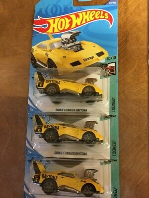 Lot of 3 Hot Wheels DODGE CHARGER DAYTONA Treasure hunts TOONED