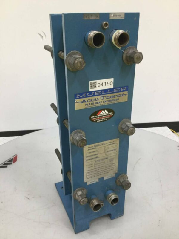 MUELLER Accu Therm Plate Heat Exchanger AT4 C-20 Used #94190