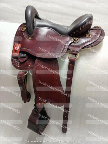 Endurance Genuine Leather Trail Western Saddles & Tack .